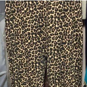 American Apparel Pants & Jumpsuits - American apparel cheetah leotard
